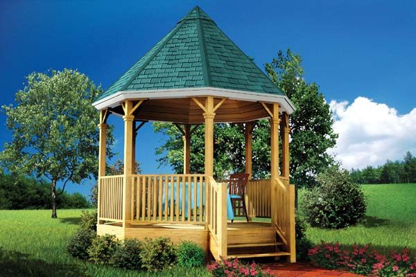 Plan 90011 Gazebo Gazebo Pool House Plans Gazebo Plans