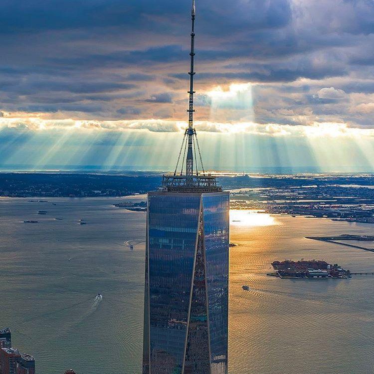 World Trade Center Aka Freedom Tower Via Copterpilot