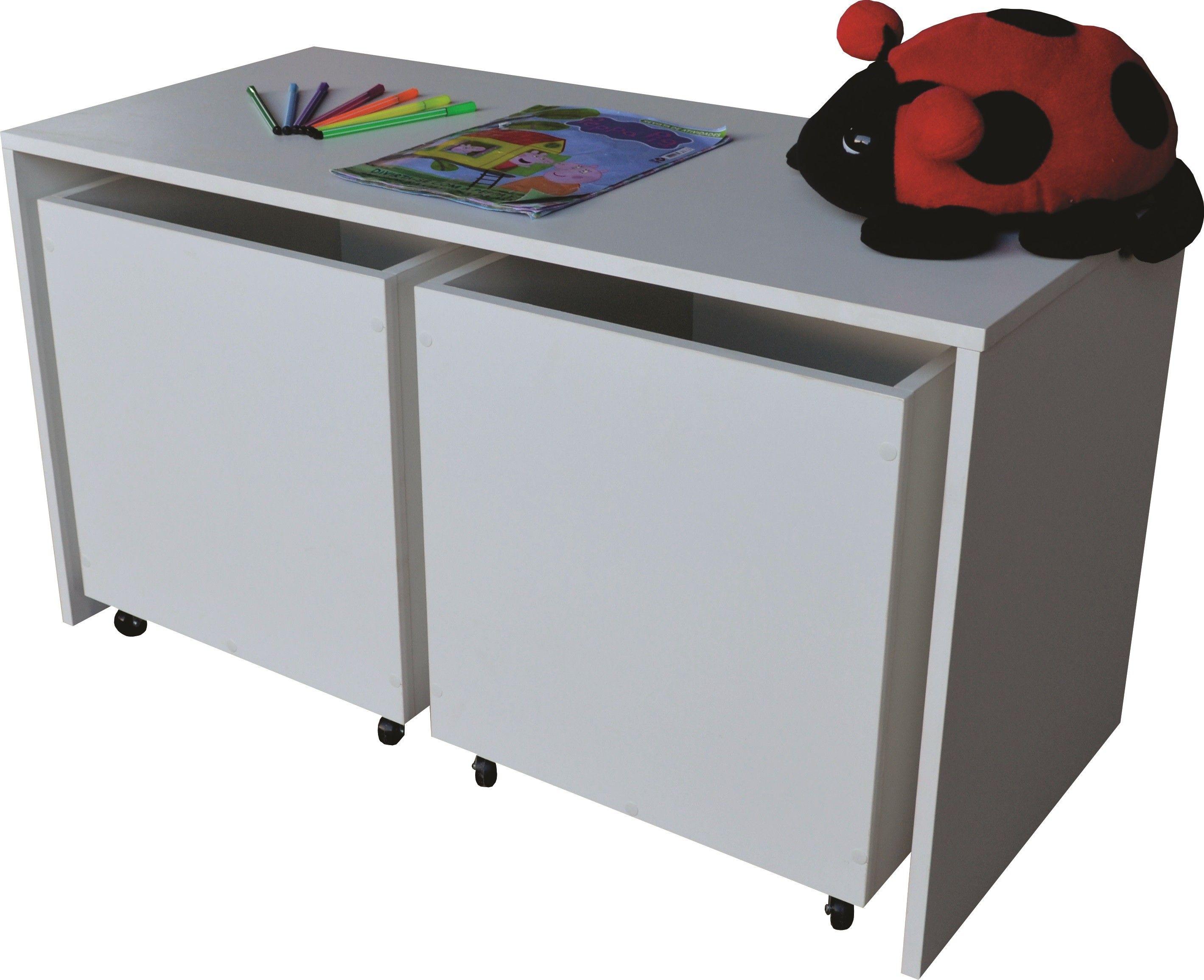 Bau Para Brinquedos Caixa Nicho Mesa Atividades Infantil Mesa