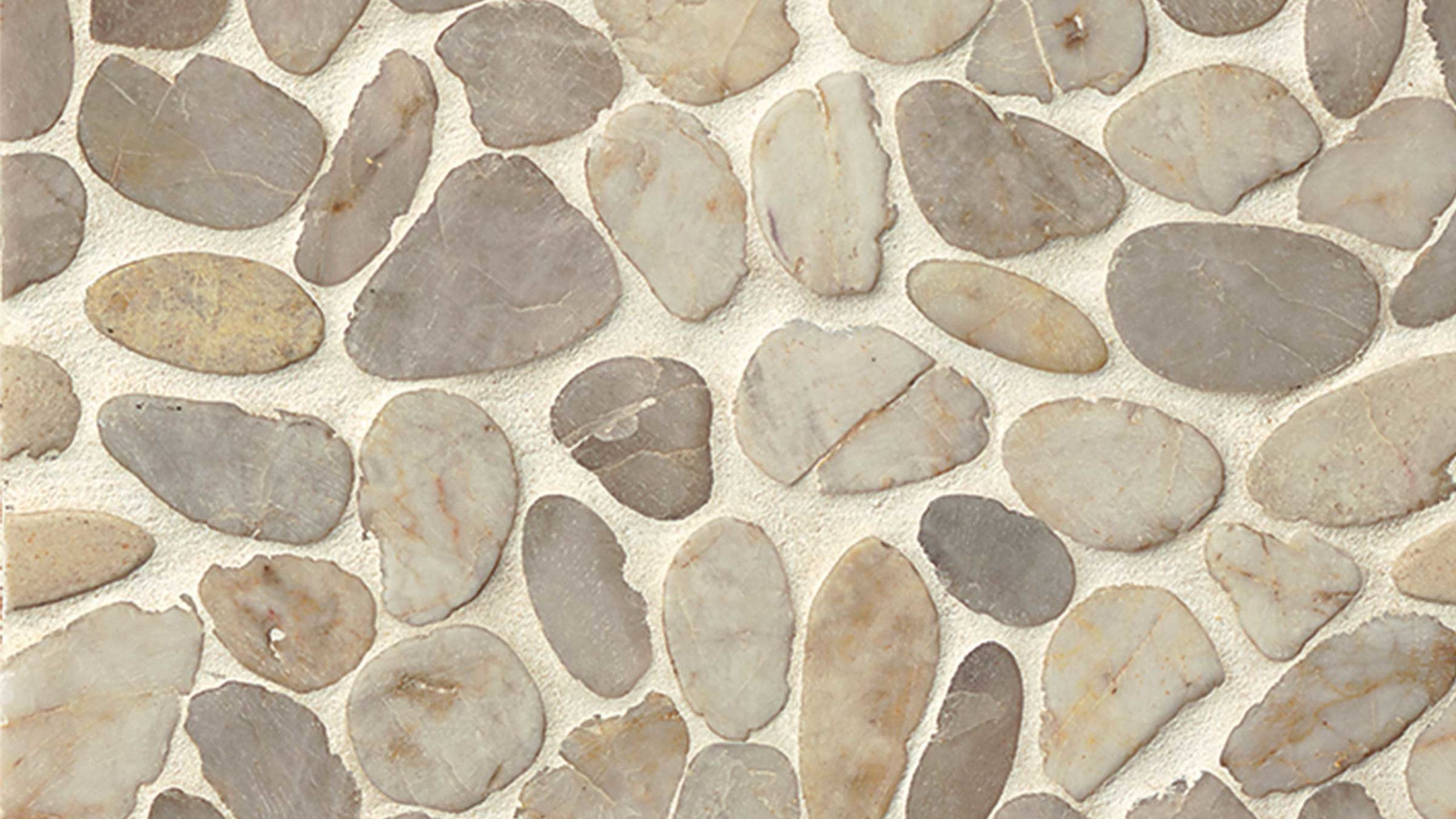 Hemisphere Floor Wall Mosaic In Fatima Cream Mosaic Mosaic