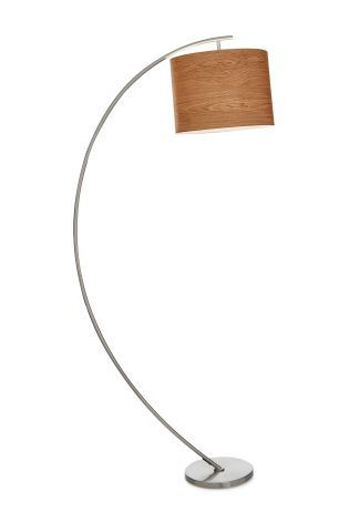Buy arc floor lamp with shade from the next uk online shop buy arc floor lamp with shade from the next uk online shop mozeypictures Gallery