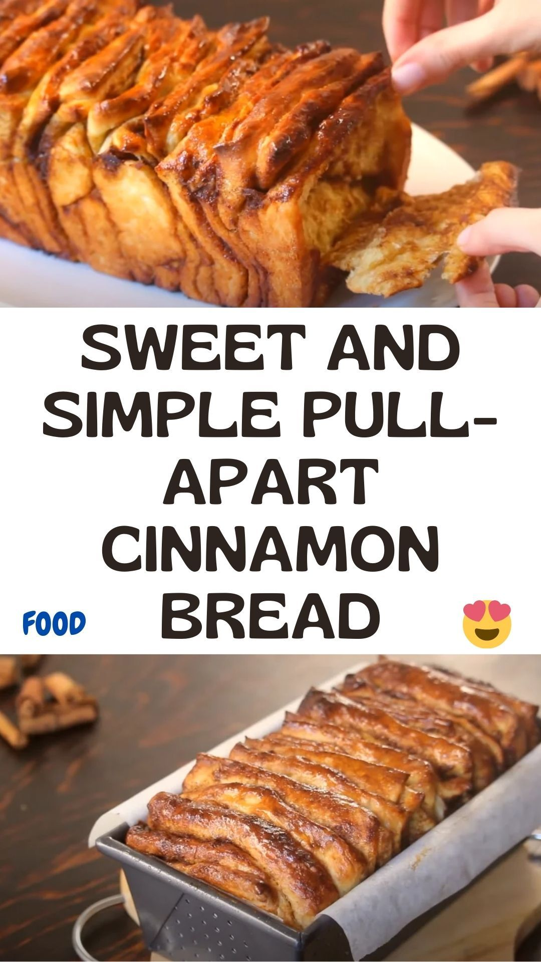 Sweet And Simple Pull-Apart Cinnamon Bread