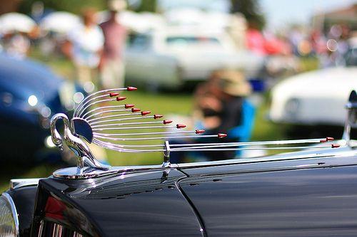 Classic Car Antenna Hood Ornament Hood Ornament Pinterest Cars