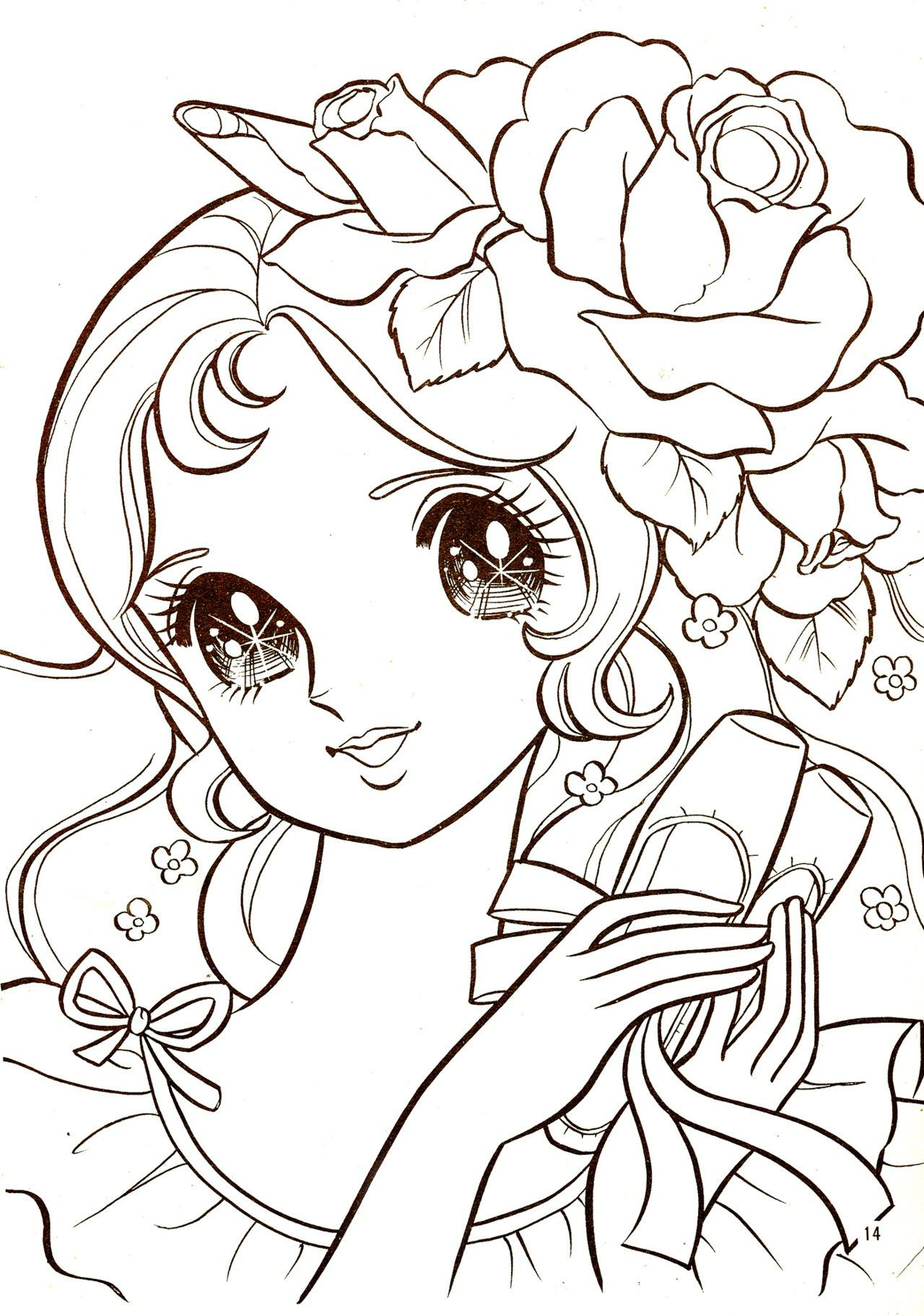 Coloring Pages Manga