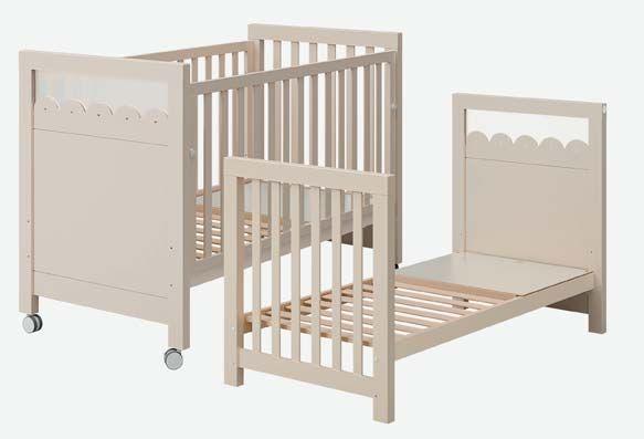 Con nuestros muebles infantiles puedes ahorrar dinero. Una cuna convertible en cama infantil que se aprovechará durabte más tiempo¿qué os parece la idea? http://goo.gl/IRv3Ua #barcelona #muebles #mobiliario #infantil