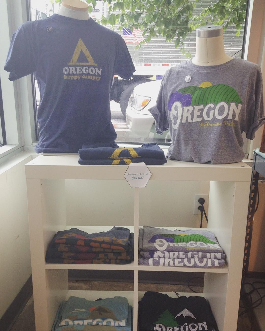 We have most sizes in the newest @littlebayroot #Oregon  #PDX T-Shirt designs  $24-$27 #intheshop