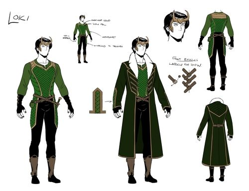 Redesign Spoilers For Young Avengers 11 Loki Costume Loki Cosplay Young Avengers