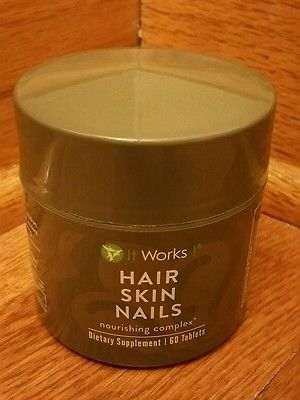 It Works! Hair, Skin, Nails Nourishing Complex (60 tablets) Exp 04/17 *OPENED*