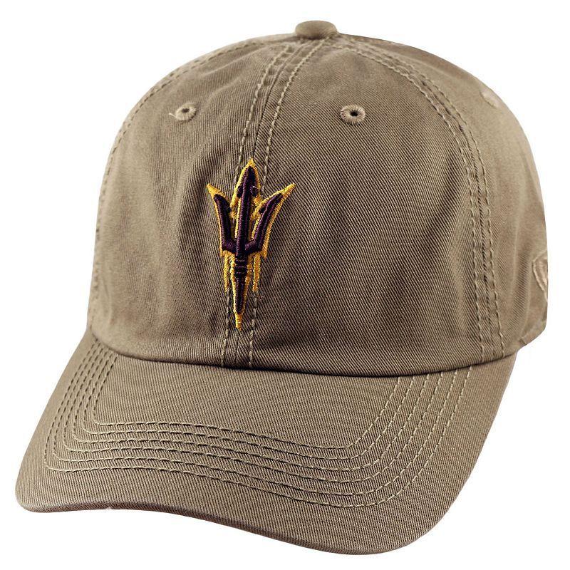 new styles 15ce8 27342 Adult Top Of The World Arizona State Sun Devils Crew Baseball Cap, Men s,  Dark Beige