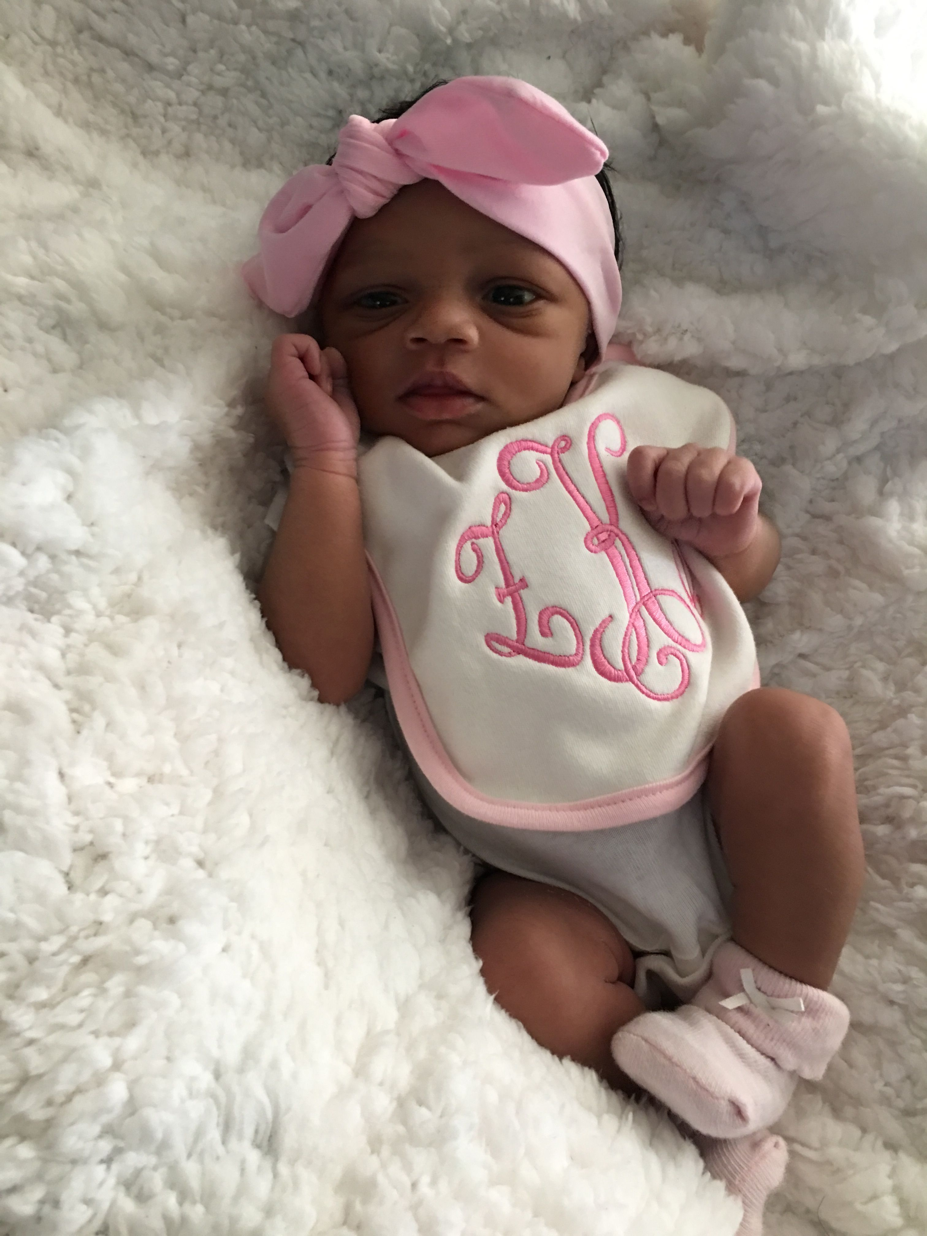 Pin By Zkscollection Llc On Baby Girl Black Baby Girls Cute Black Babies Newborn Black Babies