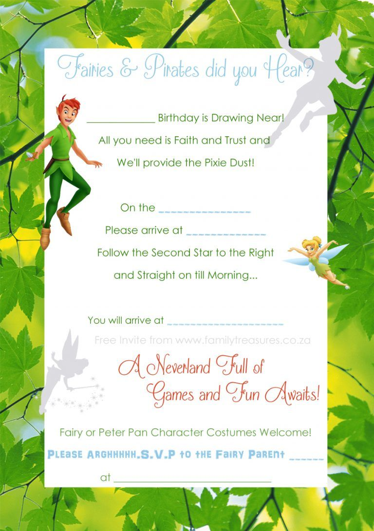 Peter Pan and Tinkerbell Party | Fairy feestje | Pinterest ...