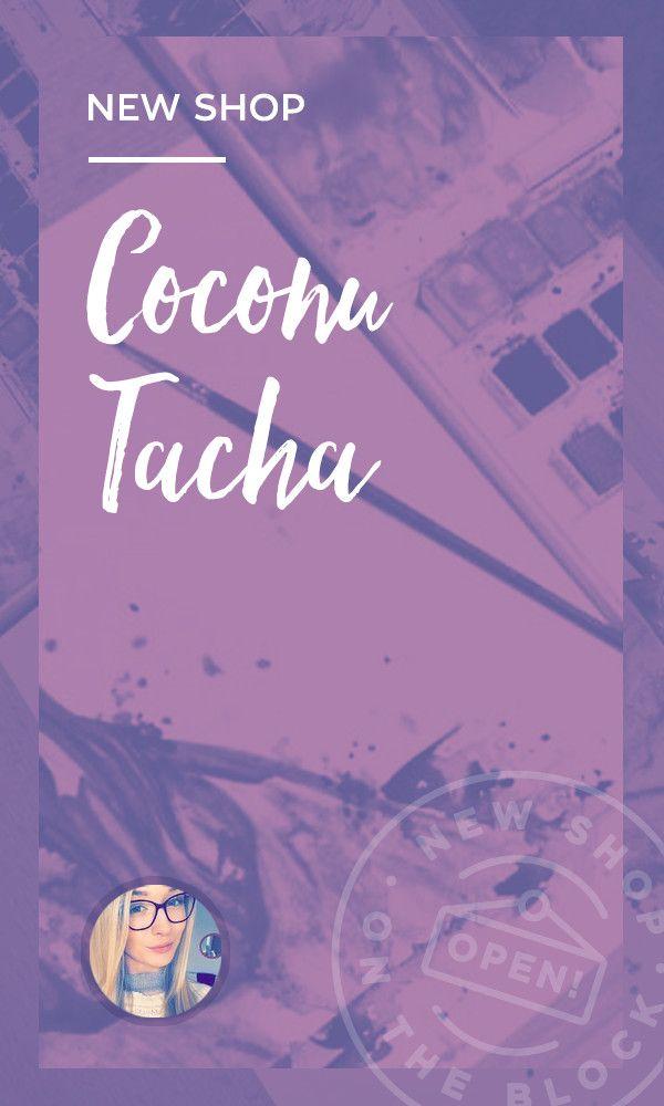 On the Creative Market Blog - New Shop on the Block: CoconuTacha