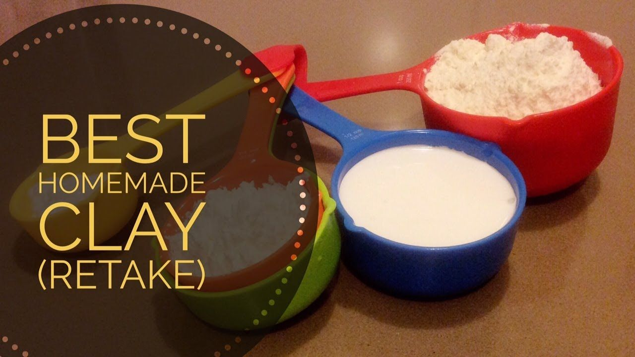 Best Homemade Clay Recipe (Retake): Yeah.finally I make another video after some of you c