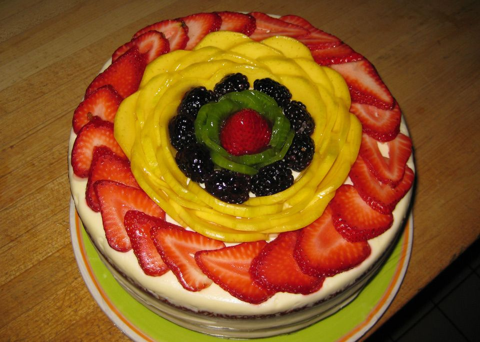 Spring Fling cake from The Market Denver This cake is so good