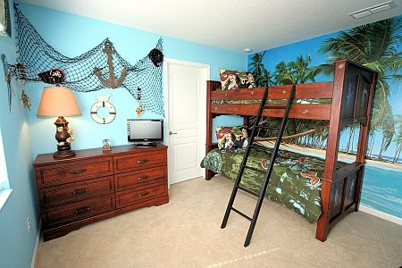 Pirate ideas  like the idea of adding some fish net to walls also rh pinterest