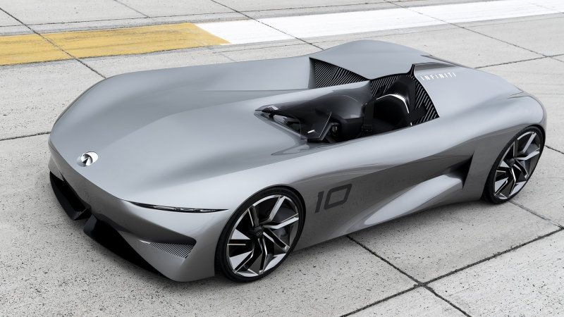 Infiniti Prototype 10 Single Seat Speedster Unveiled At Pebble Beach