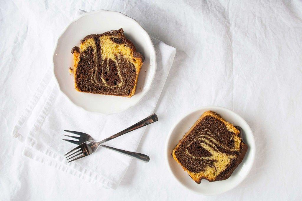 zebrakuchen für teigliebe.com #teigliebe #kuchen #zebrakuchen #cake #schokolade