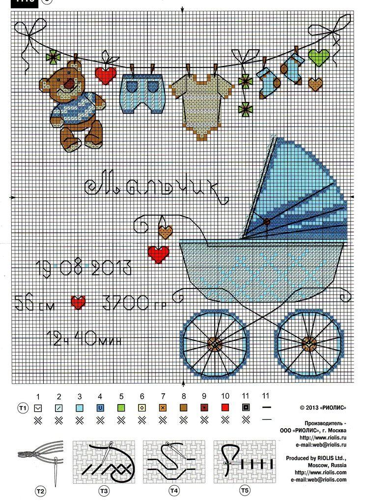 Свадьбу, открытки схемы вышивок новорожденным