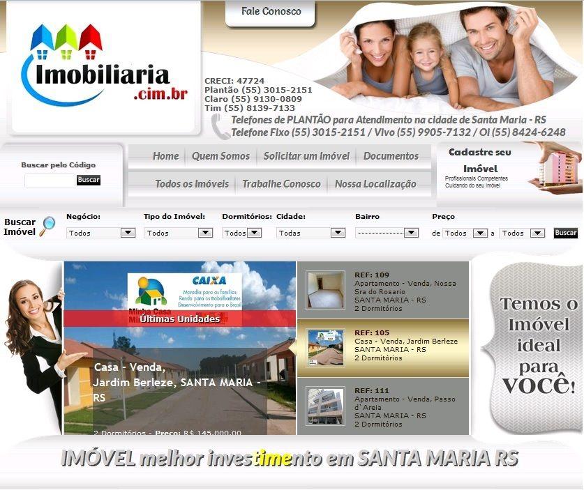 IMOBILIÁRIA EM SANTA MARIA - RS
