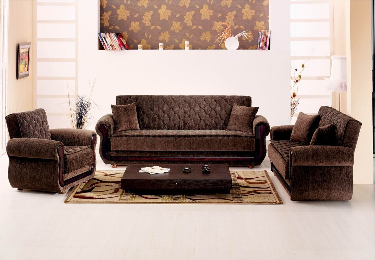 Pleasant Brown Items Dark Brown Fabric Modern Convertible Sofa Bed Short Links Chair Design For Home Short Linksinfo