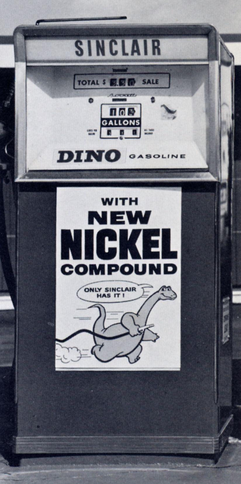1960's Sinclair Gas Pump! Vintage gas pumps, Old gas