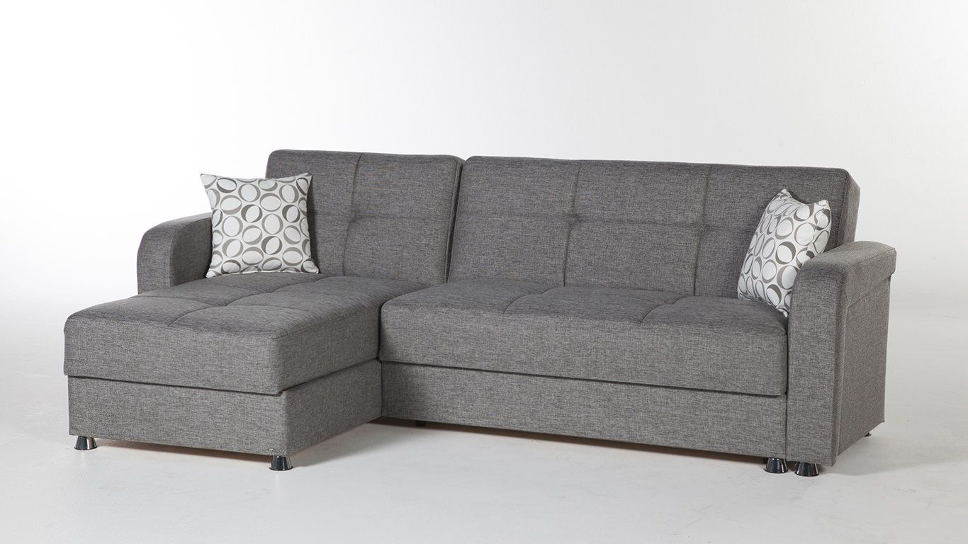 Vision Diego Gray Sectional Sofa by Istikbal Furniture in 2019