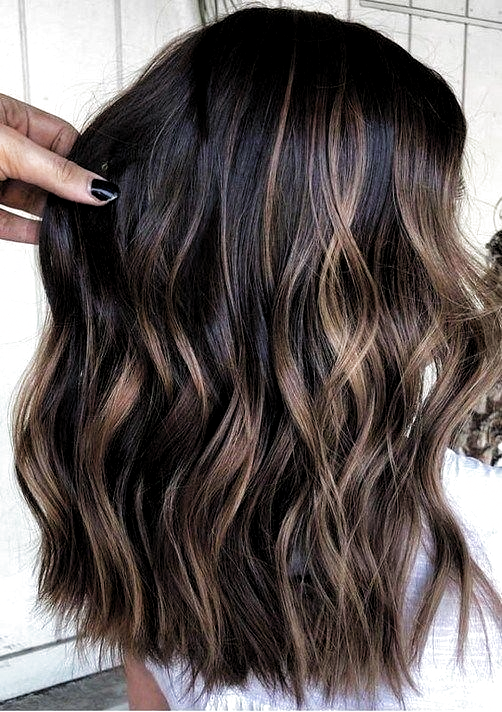 hair color ideas for brunettes  #beautiful #color #ideas #brunettes beautiful ha