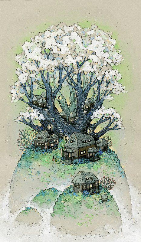 Snow Blossom Hill