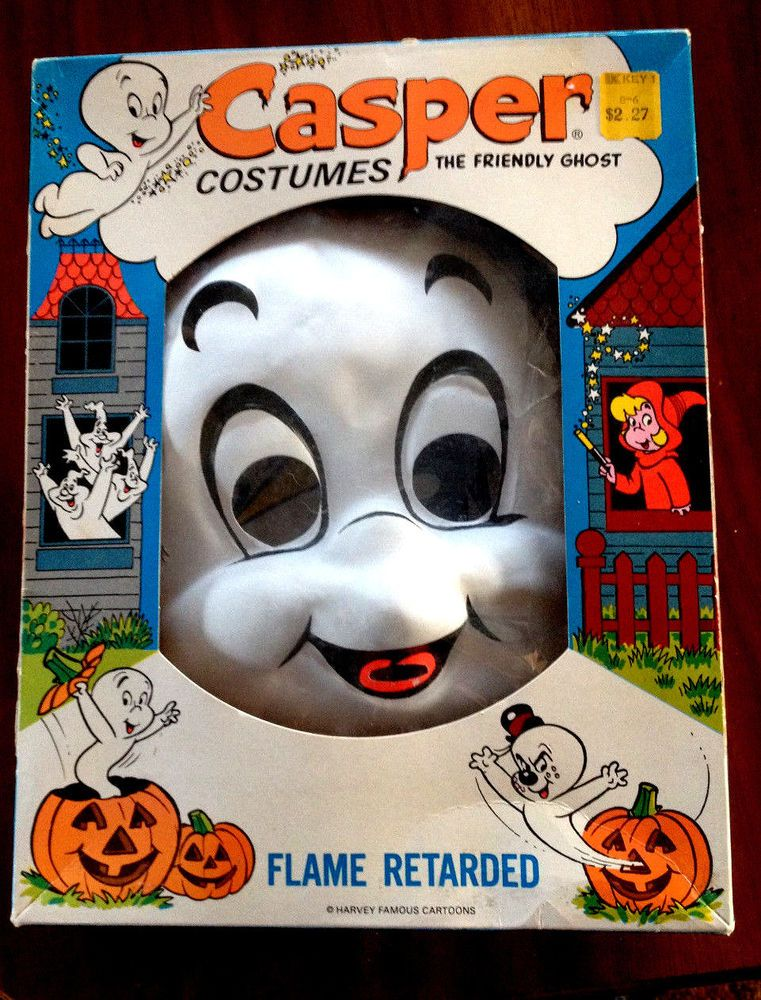 "VINTAGE 1966 ""CASPER THE FRIENDLY GHOST"" Costume in"