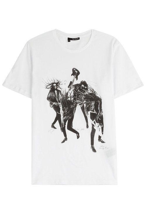 THE KOOPLES Statement T-Shirt. #thekooples #cloth #