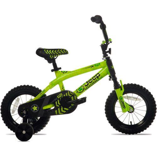Walmart 12 Jeep X12 Boys Bike Green Boy Bike Bike With Training Wheels Jeep Shop