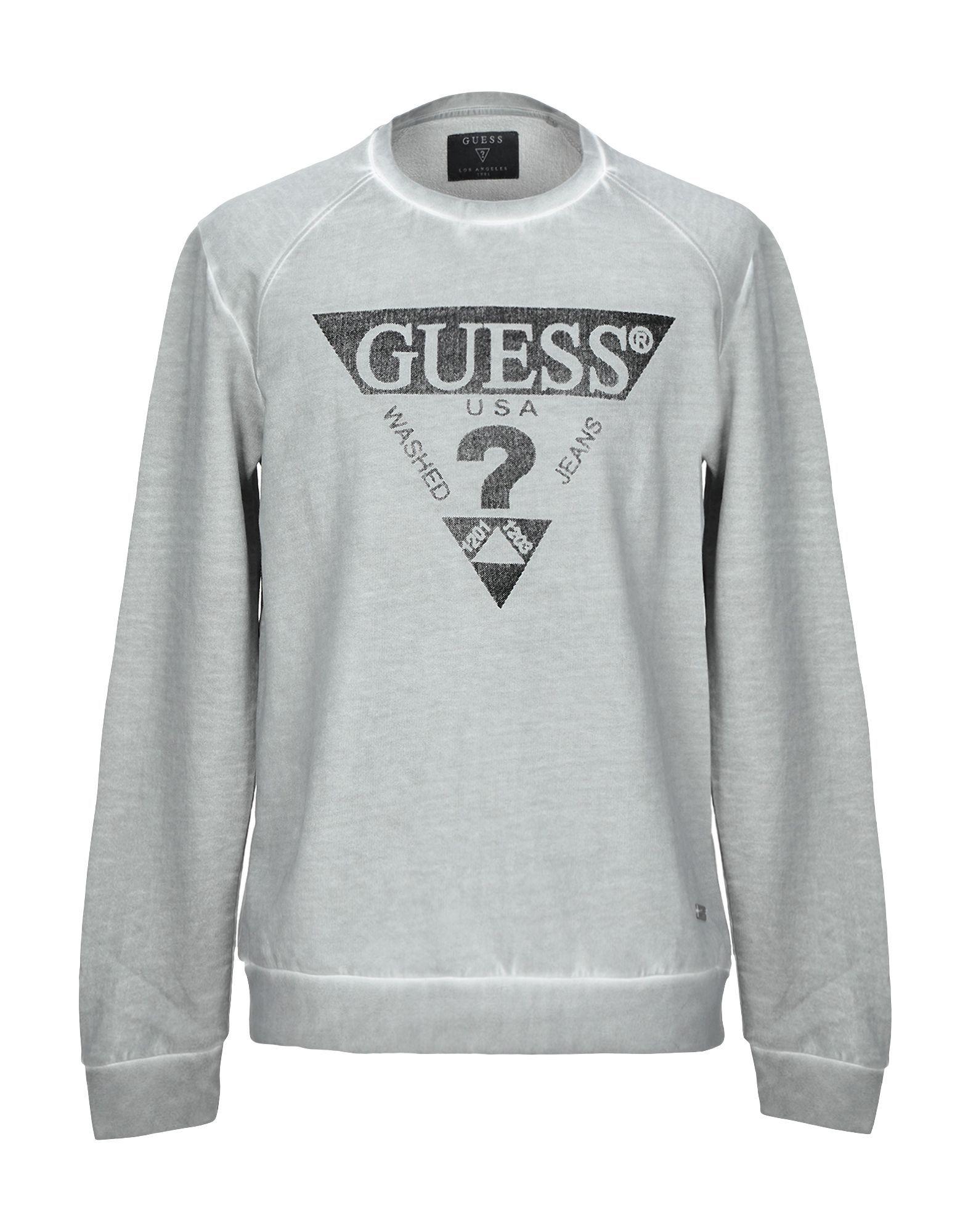 Guess Sweatshirt Guess Cloth Sweatshirts Long Sleeve Tshirt Men Tomboy Outfits [ 2000 x 1571 Pixel ]