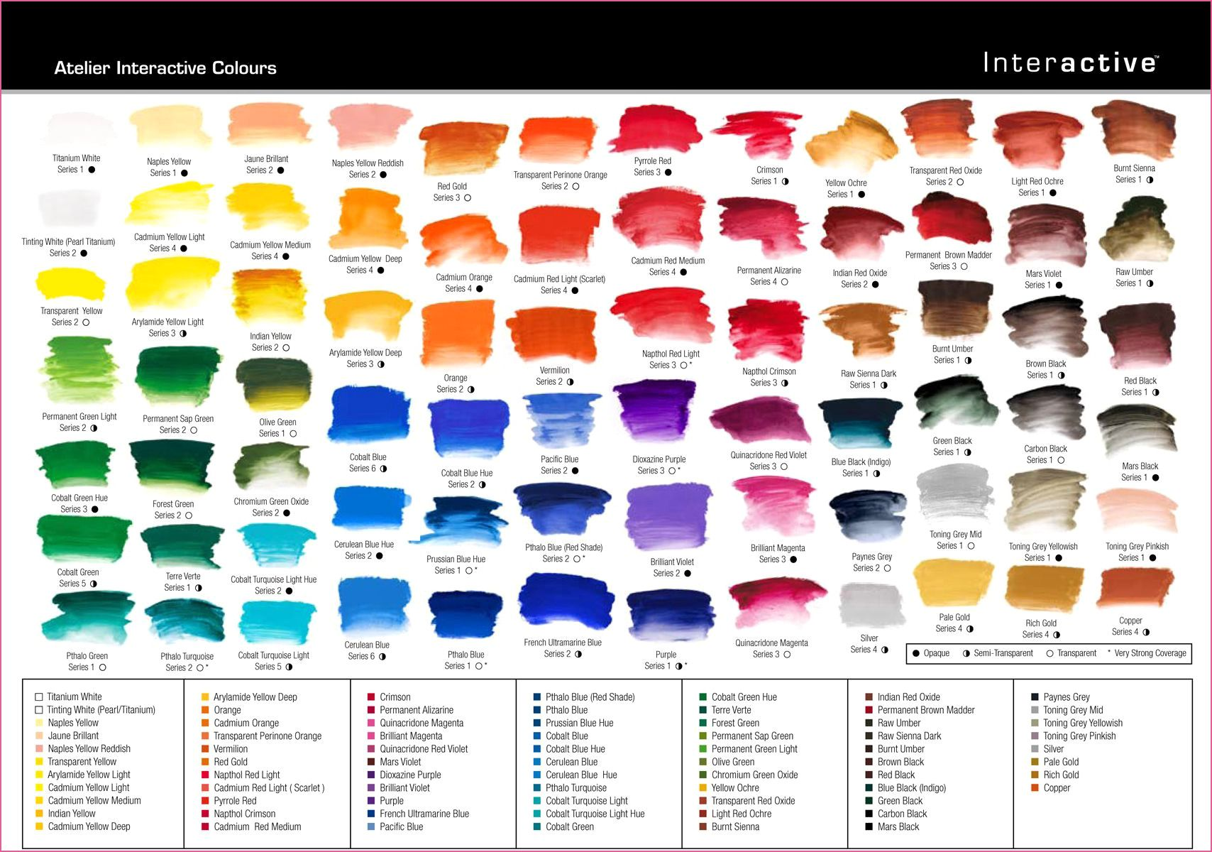 Genial Naturcolor Color Chart Acrylic Colors Color Chart Acrylic Artists