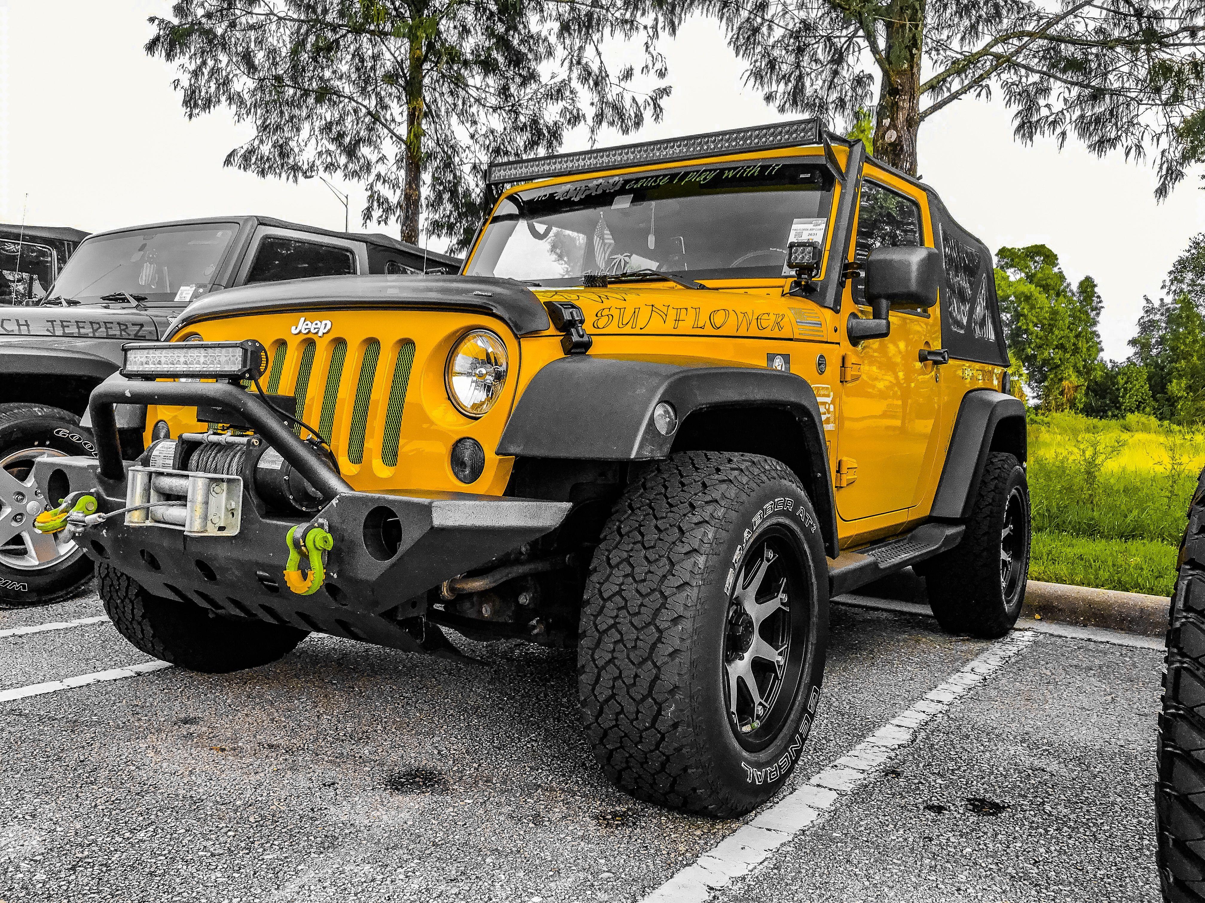 The Sunflower Jeep Naplesflorida Sweet Ride Monster Trucks Jeep