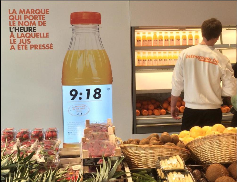 #LeJusLePlusFrais fait sensation dans notre magasin d'Issy-les-Moulineaux !  #Intermarché #Fruits #Fresh