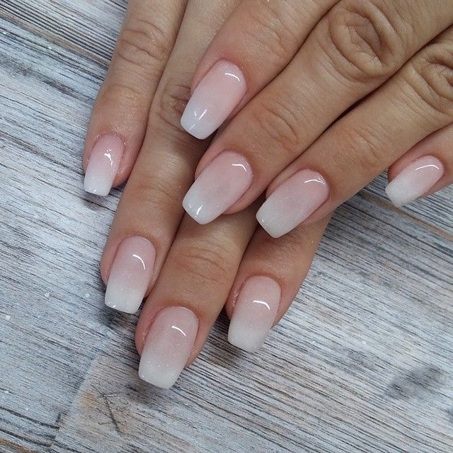 11358971_391375357718442_1987560009_n Coffin Nails, Imbre Nails, Gel Ombre  Nails, Neutral Gel Nails, Pink