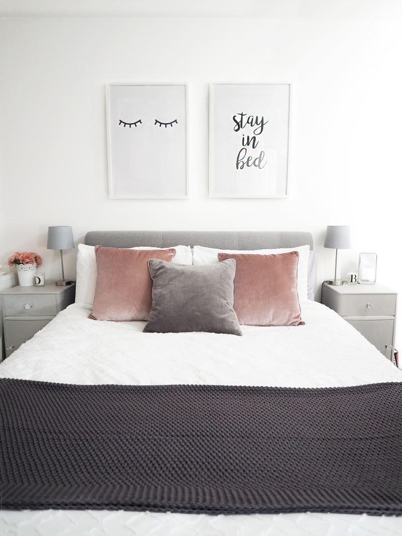 Grey Bedroom Ideas Pinterest #GreyBedroomIdeas Grey Bedroom, Grey