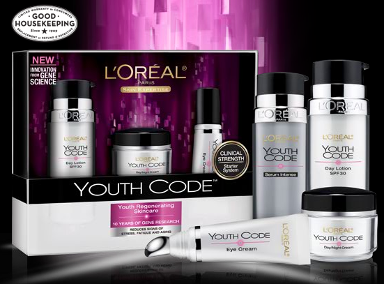 L'Oreal AntiAging Skin Care Product I really think this