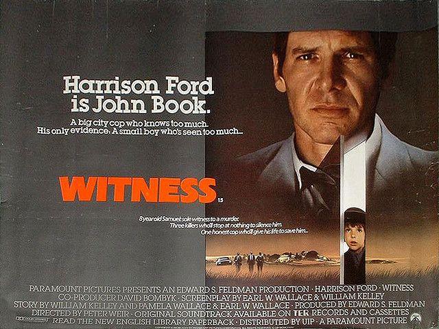 Harrison Ford as 'John Book'