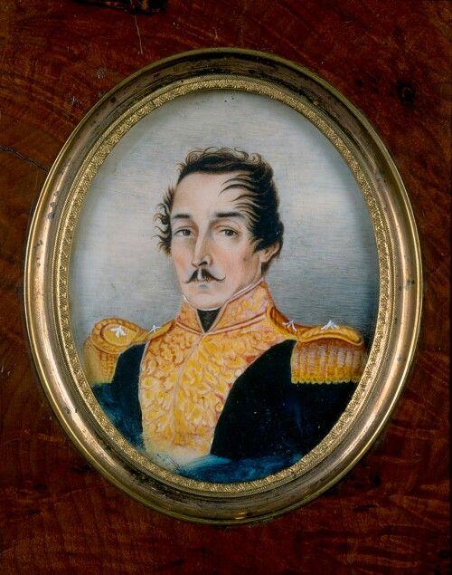 El General Francisco De Paula Santander Obra Del Pintor Jose