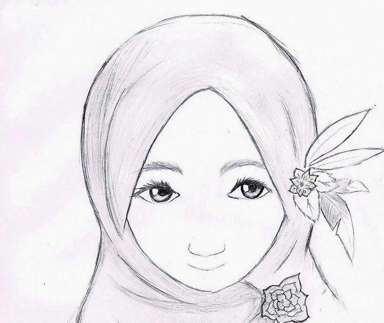 Paling Bagus 25 Gambar Sketsa Kartun Wanita Berjilbab Mewarnai Sketsa Gambar Orang Berhijab Yang Mudah Terbaru Kataucap Indah Cara Meng Sketsa Gambar Kartun