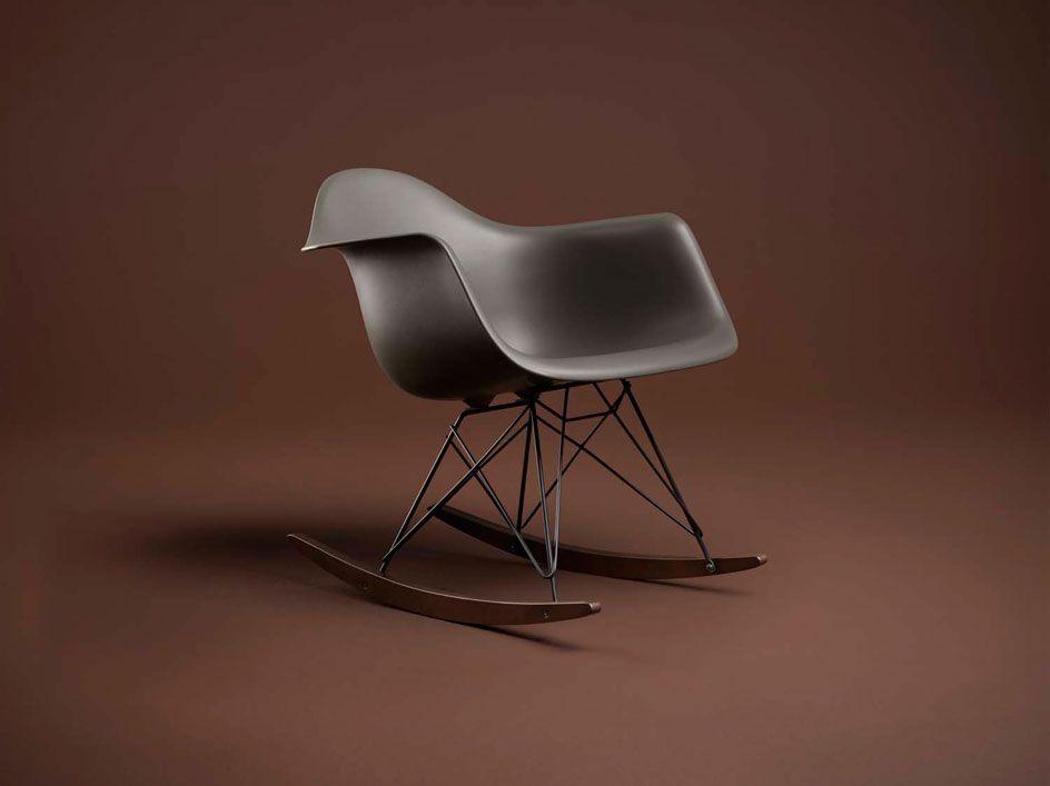 Eames Rar Edition Limitee Chaise A Bascule Eames Chaise A Bascule Mobilier De Salon