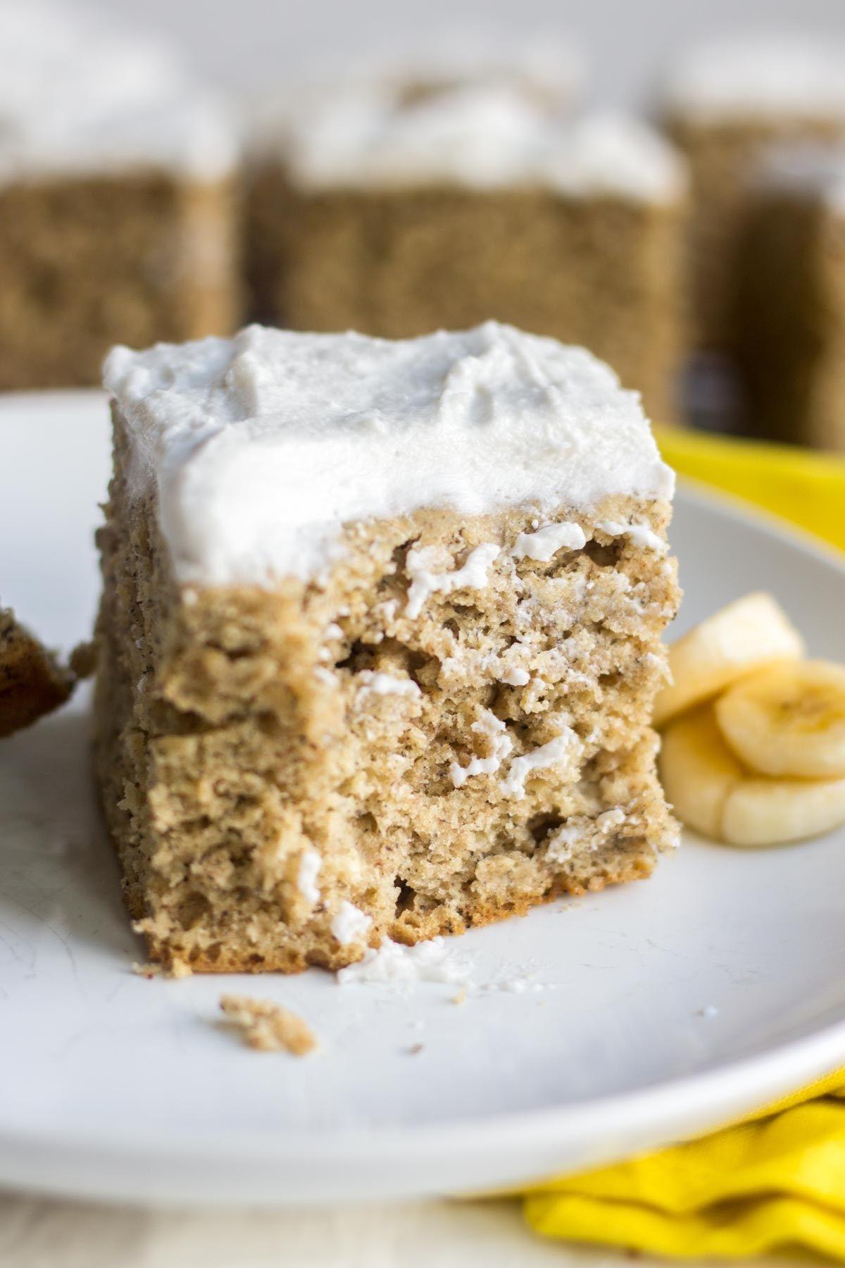 Healthy Banana Cake Recipe Healthy Banana Cakes
