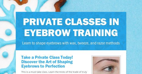 Eyebrow Shaping Courses