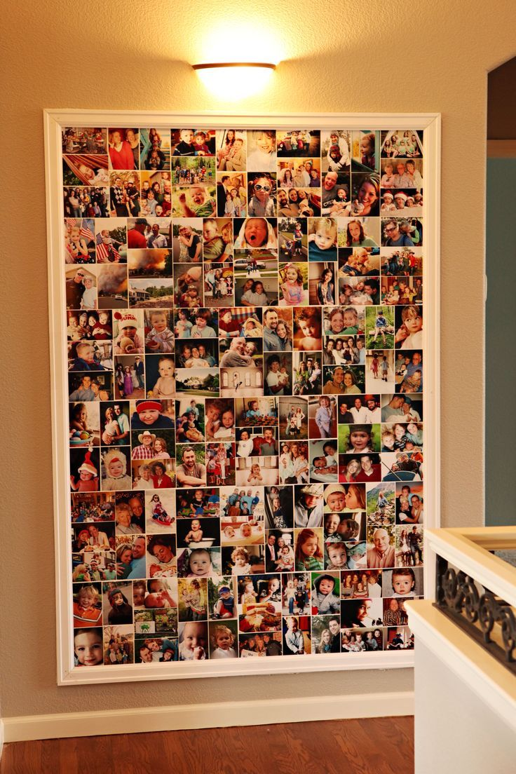Pin von Kris Saxton auf Crafts | Photo wall collage ...