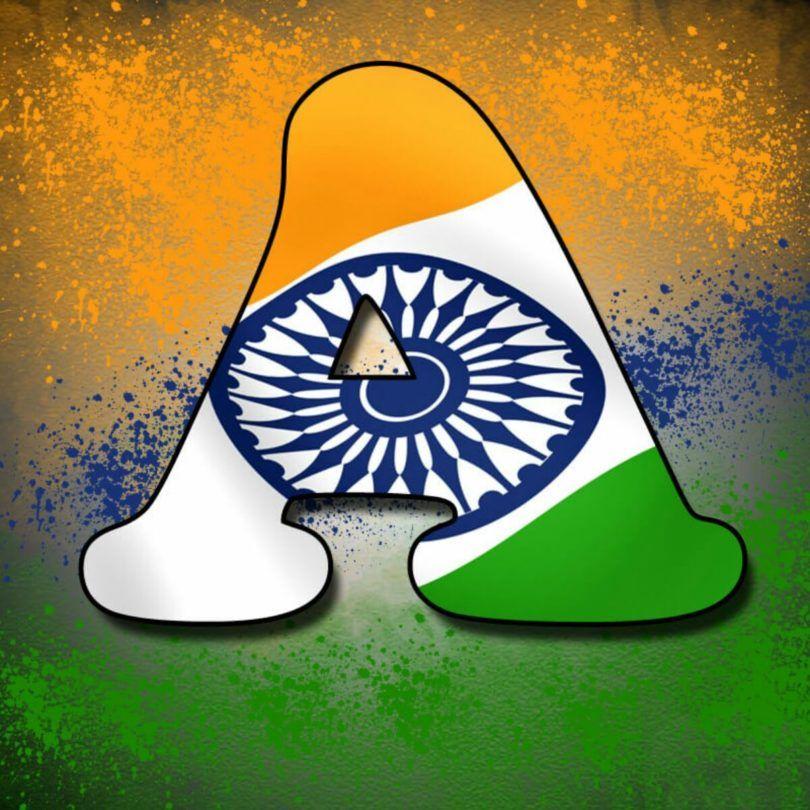 A Letter Tiranga Pic Tiranga Image For Whatsapp Indian Flag Wallpaper Indian Flag Colors Indian Flag Images