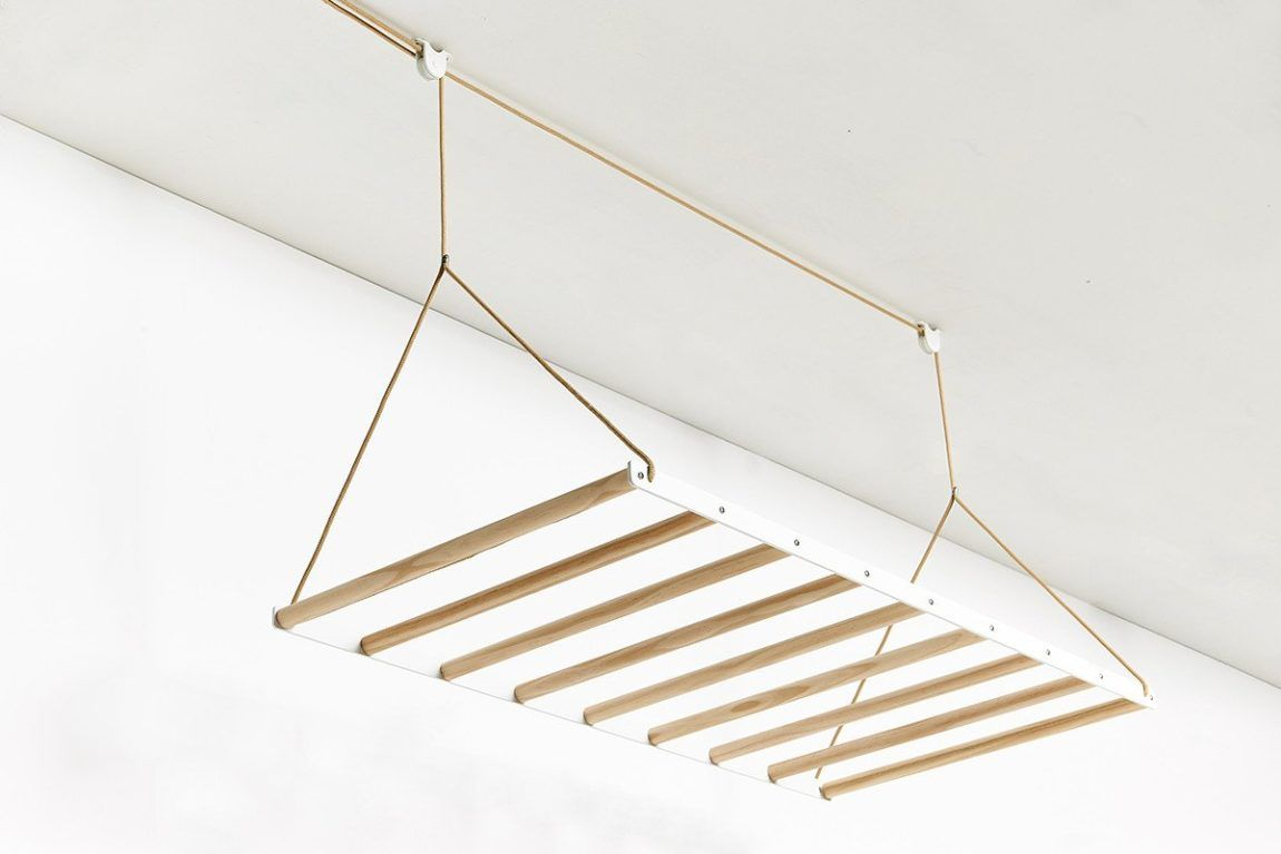 Hangingdryingrack designed by design studio george u willy floor