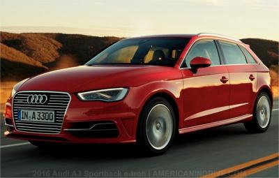 USAspec 2016 Audi A3 Sportback etron PHEV Review