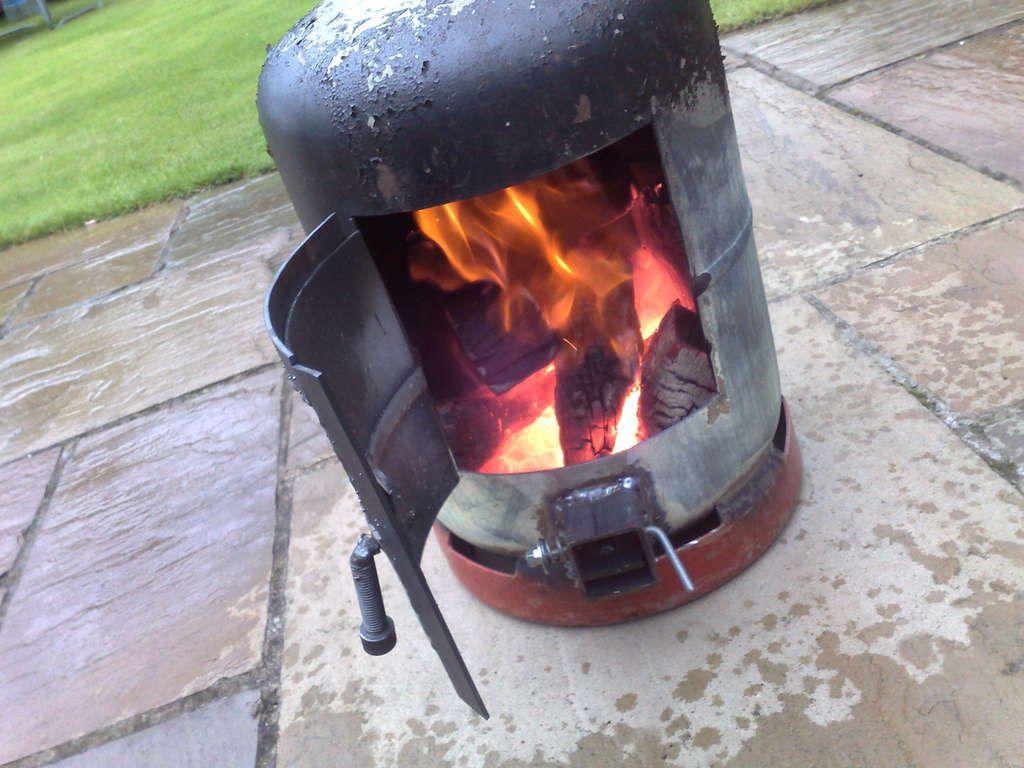 Gas Bottle Wood Burner Gas Bottle Wood Burner Diy Wood