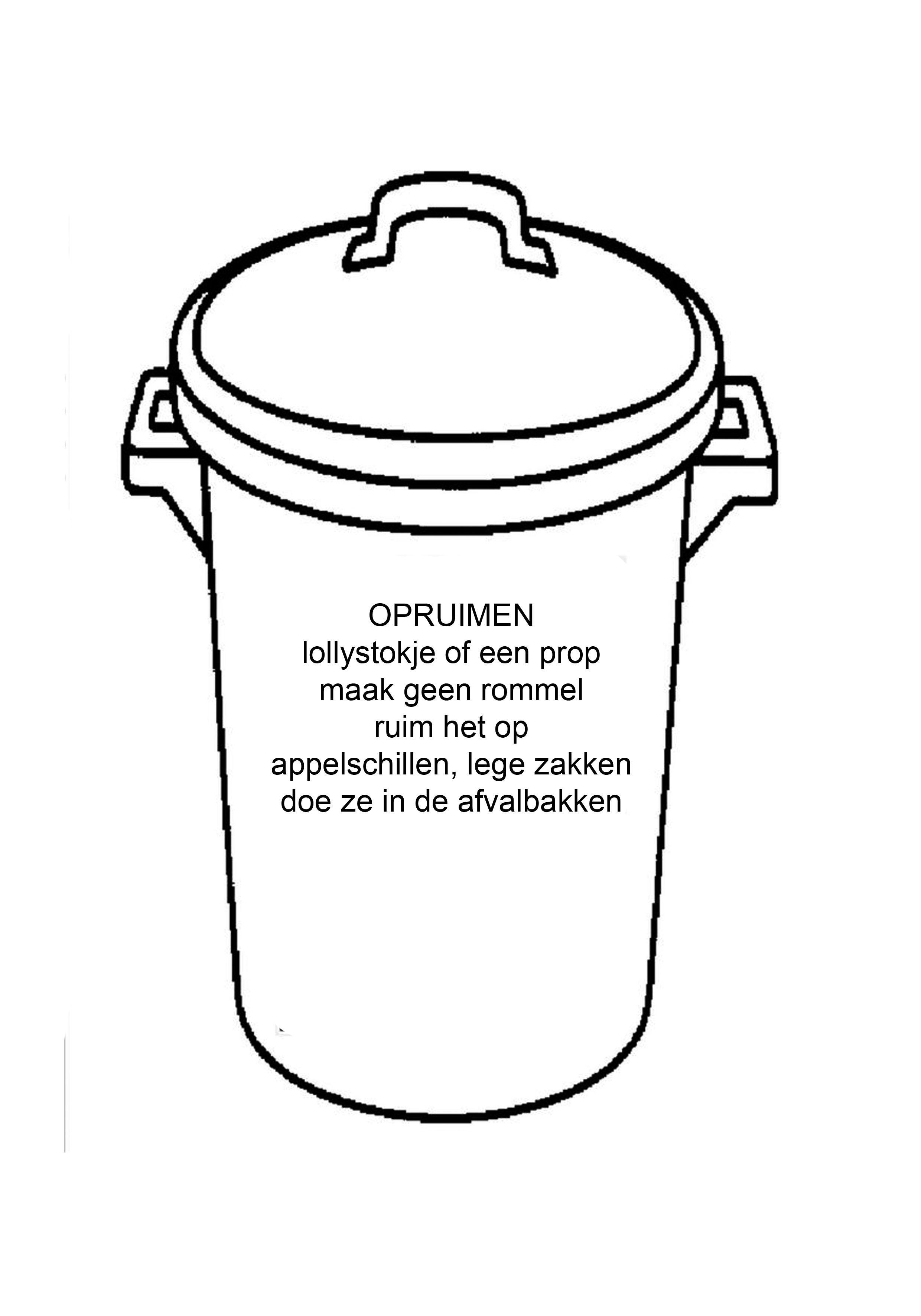 vuilniskar zoeken thema recycleren recyclen
